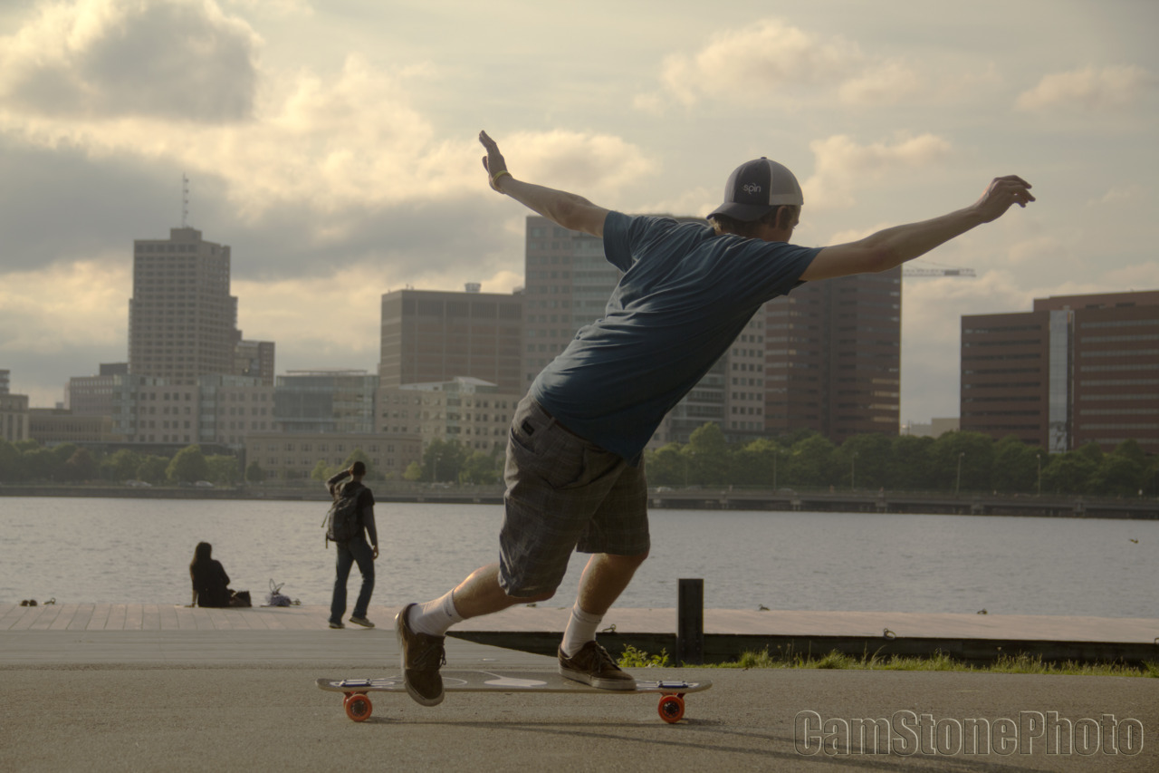 cstone90:  Skater: Mike Girard. Location: Charles River, Boston, MA.  Myself w/ a toeside check on the Sama on Charles River Esplanade, #Boston. <3 that dirty water! Follow Cameron's new Tumblr to stay up on his new work! -MG