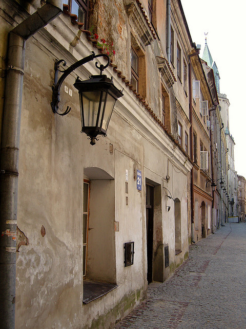 polishcities:  Lublin - Centro Storico 5 by Bisbi on Flickr. Lublin, Poland  This is where my ancestors come from, according to history of my surname.