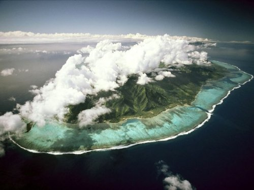 Clouds over Tahiti