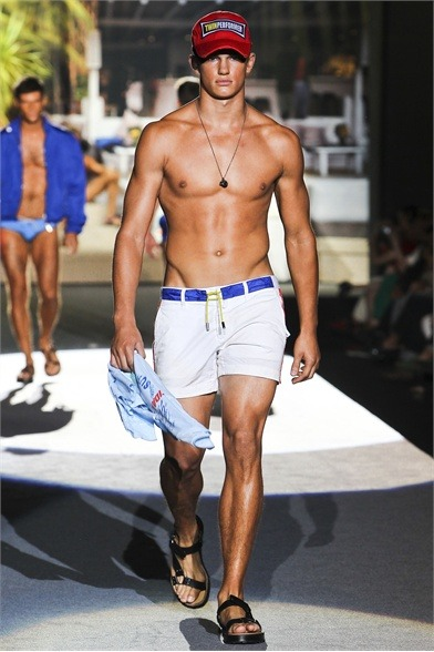 mensfashionworld:  Dsquared² S/S 2012  #Summer is here.