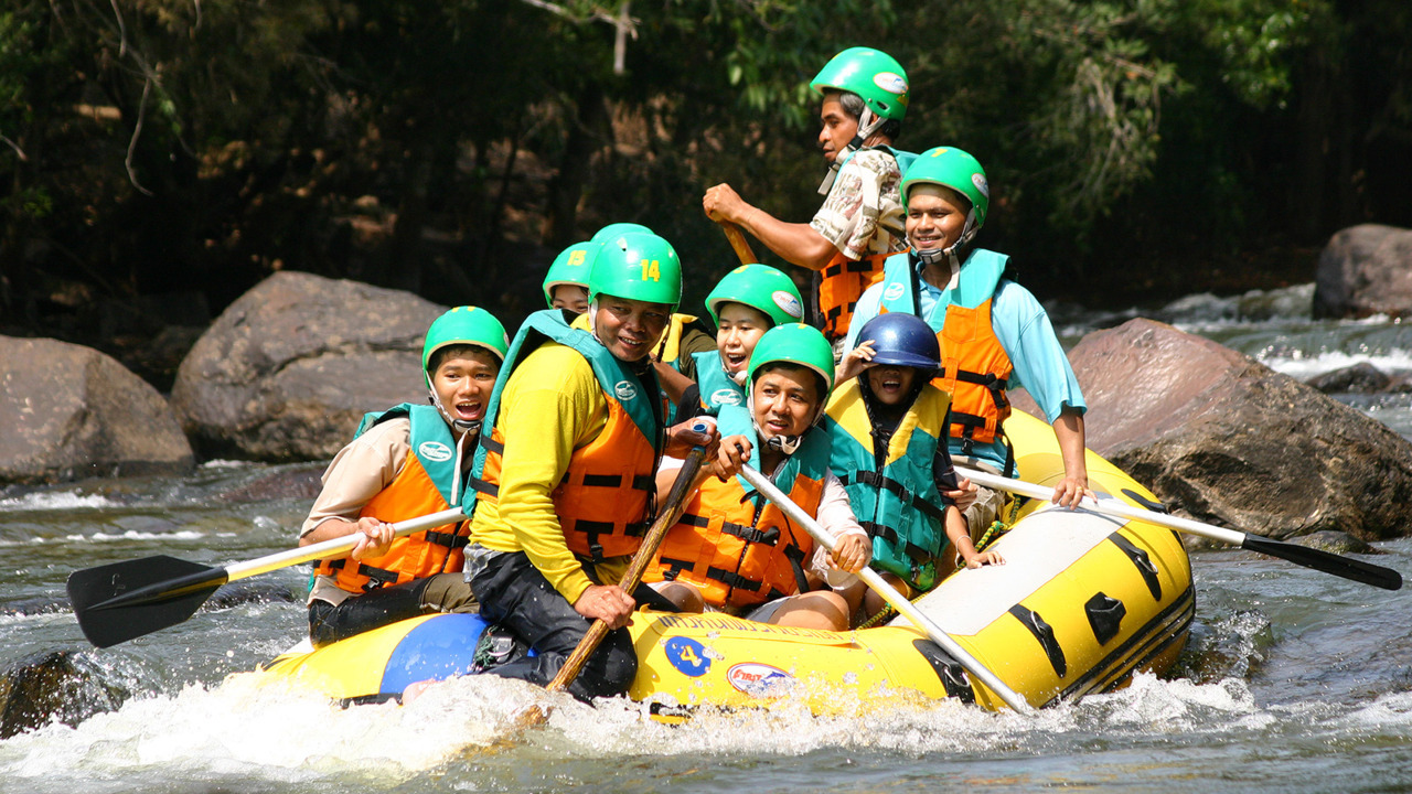 Floating the raft down Pai River is the greatest adventure activity in Green Season. The experience is guaranteed to be a massive excitement. The activity is available only in early June until February of the next year due to the water level in the river.www.tourismthailand.org