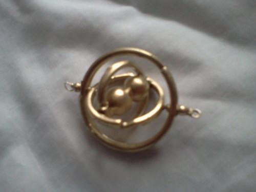 Make your own time-turner!! This is perfect and ridiculously easy to do. You don't even need any special skills just a couple things you can pick up at a hardware store. I'm not sure if it actually works in terms of time travel… the directions don't include the enchantment   http://www.cutoutandkeep.net/projects/harry-potter-inspired-hermiones-time-turner