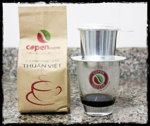 One of favorite coffees of Vietnamese ppl - Copen Coffee