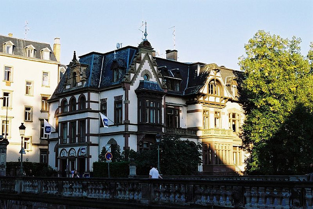 | ♕ |  Century-old house - Strasbourg, France  | by © Eugene Regis