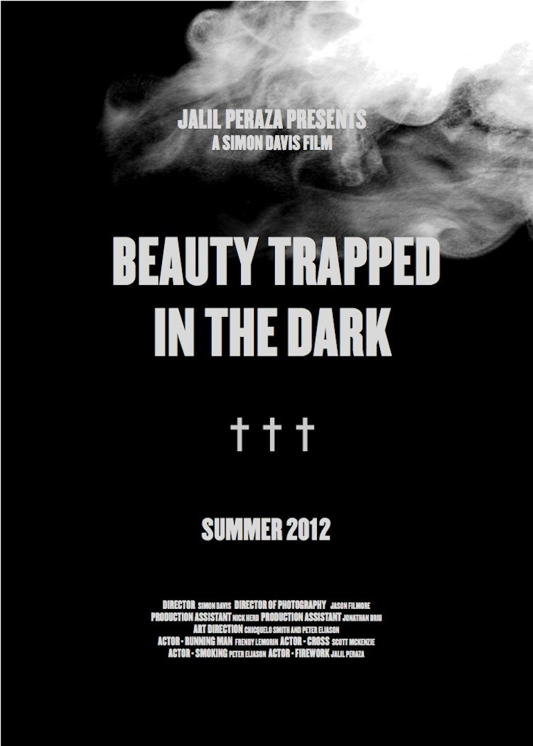 BEAUTY TRAPPED IN THE DARK.
