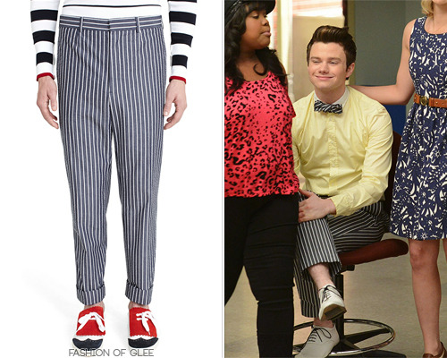fashionofglee:  Brooks Brothers Stripe Seersucker Belt Loop Trousers - $325.00 Worn with: Frank & Eileen shirt