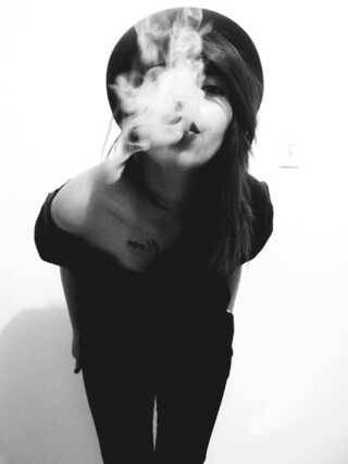 Nothin more attractive than a beautiful girl who can smoke on that ganja (;