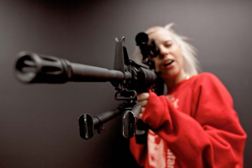 whereiswally:  Yo-landi  Just when I thought Yolandi could not get any cooler, fuck yeah!