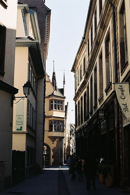 | ♕ |  Alley in La Petite France - Strasbourg  | by © Eugene Regis