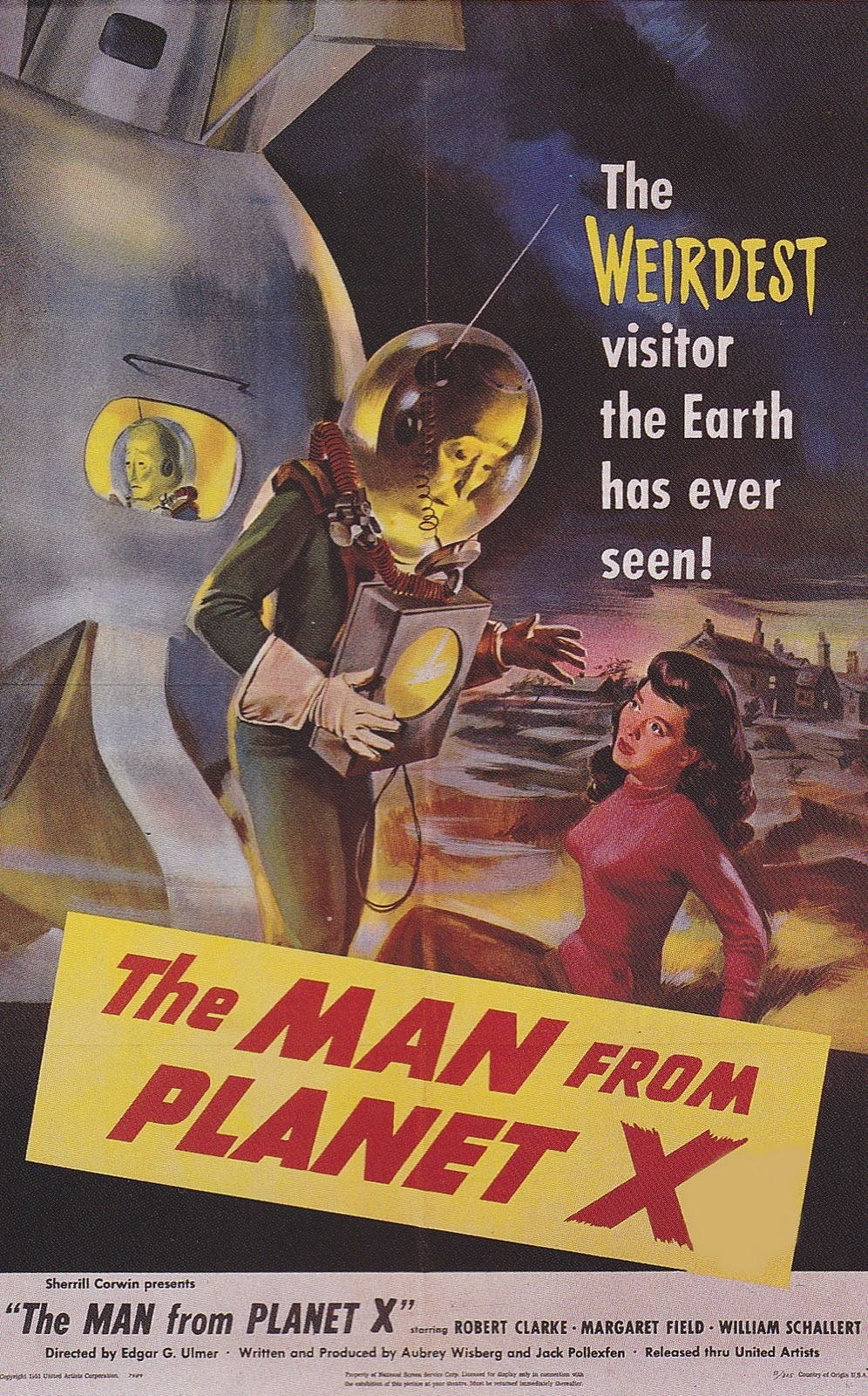 The Man From Planet X; 1951