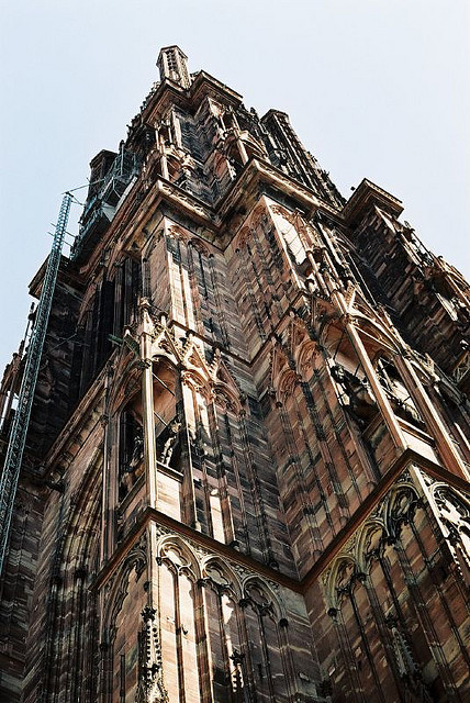 | ♕ |  Cathedral Tower - Strasbourg, France  | by © Eugene Regis