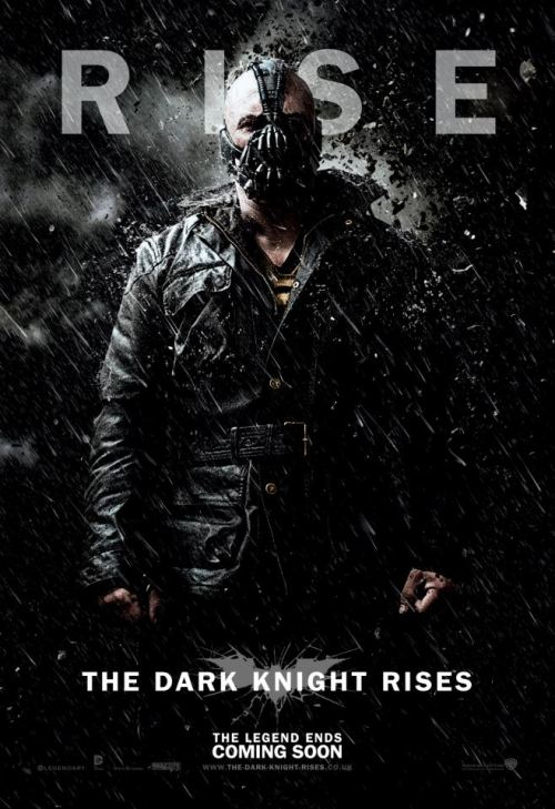 THE DARK KNIGHT RISES: Bane/Tom Hardy