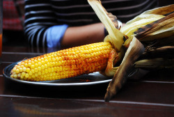 f-word:  creole corn on the cob photo by OBiTRAN