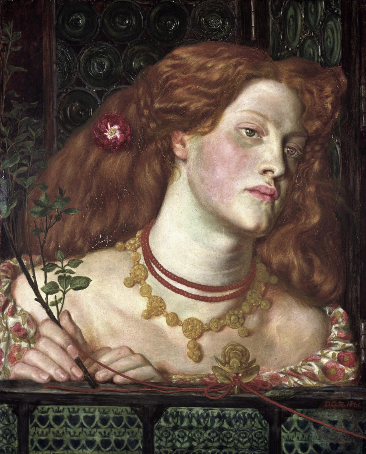 Fair RosamundDante Gabriel Rossetti1861
