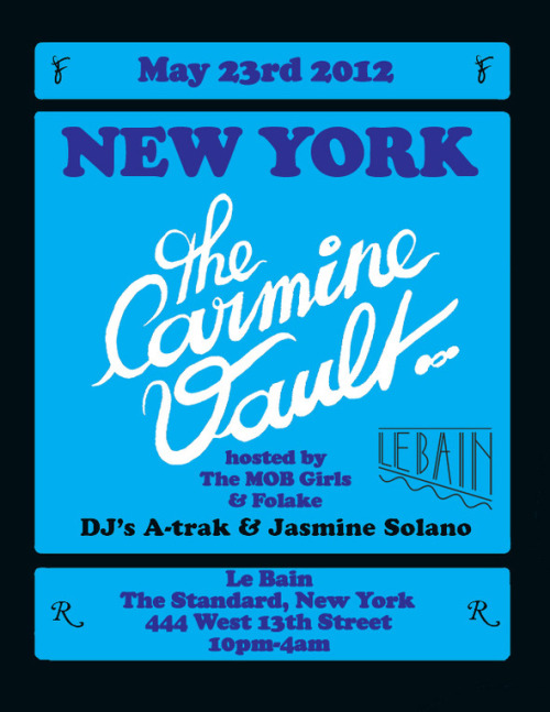 "DJ's A-trak and Jasmine Solano rocking at Le Bain is ILL You going to be in NYC today, May 23rd?  If you are then you better check out this ILL party. A-trak (Kanye West's former tour DJ, Fool's Gold Records Boss and 1/2 of Duck Sauce) is one of the dopest party DJ's.  Homeboy gets nothing but respect from me.    AND he is going to be rocking the party with one of New York's Illest, the fine as hell Jasmine Solano, sup ma ;) AND this is going to be at Le Bain on the top floor of The Standard Hotel in Chelsea.   Only New York's Illest will be in the building my ninja!  I'm talking Biggie Smalls ""It's Unbelievable"" R. Kelly sample the ILLEST.  ""Models will be clucking, in the bathroom f***ing"""