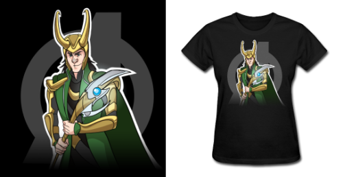 NEW Loki T Shirt! Did someone say they liked Loki? Available in Mens and Womens sizes and a variety of colors. Follow Much Needed Merch on Tumblr and or Facebook (10% off code) LAST DAY Get 10% off all kids/teens and baby items!