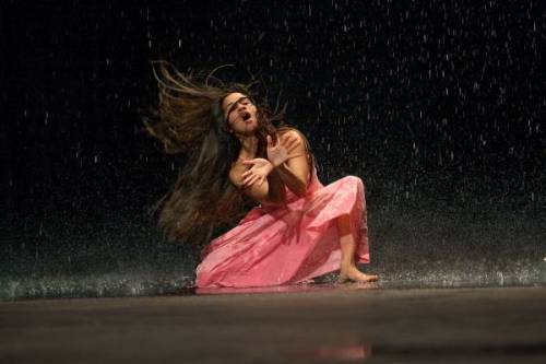 "From Pina Bausch's ""Vollmond"" (Full Moon)"