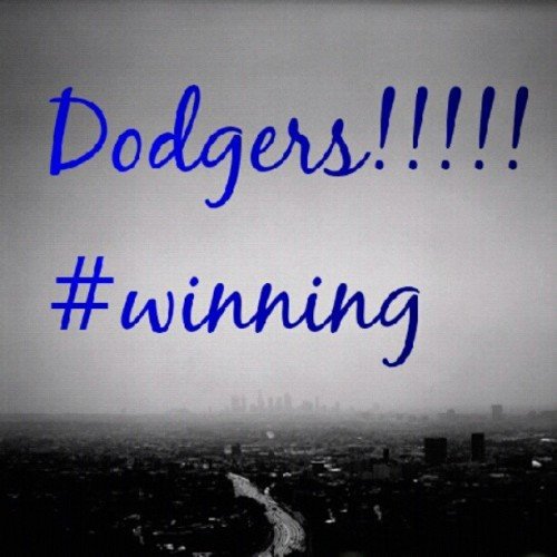 #dodgers #dodgertown #la #cali #westcoast #mlb #best #dodgerblue #bleedblue #winning  (Taken with instagram)