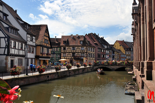 | ♕ |  Colmar - Little Venice in Alsace, France  | by © Frank Müller