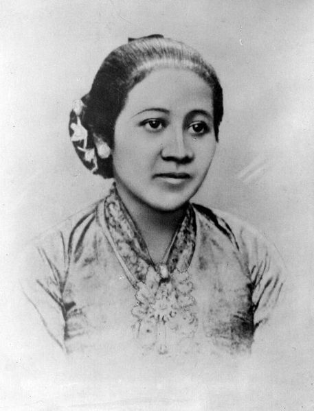 Raden Ayu Kartini (1879-1904) Per Javanese noble tradition, Kartini was secluded at home from the age of 12 until her marriage at age 24.  Removed from school, Kartini read widely with a particular focus on the emancipation of women.  She wrote and was published in De Hollandsche Lelie (The Dutch Lily), a Dutch magazine for young women. At age 24, she unwillingly became the third wife of the polygamous Regent Chief of Rembang.  He supported her interest in women's education and helped her to create a female academy in the district.  Less than a year after her marriage, Kartini died after giving birth to her son Soesalit. After her death, the Minister for Culture, Religion and Industry in the East Indies collected the letters Kartini had written to her Dutch penpals.  In 1911, they were published in a book entitled Door Duisternis tot Licht (Out of Dark Comes Light).  Eventually translated into Malay and Javanese, these letters improved the Dutch understanding of the native Javanese and contributed to social change in Indonesia.  Inspired by these letters, the Van Deventer family created the R.A. Kartini Foundation to established schools for women in Java. Since 1964, April 21 has been Karini Day, a national holiday in Indonesia.