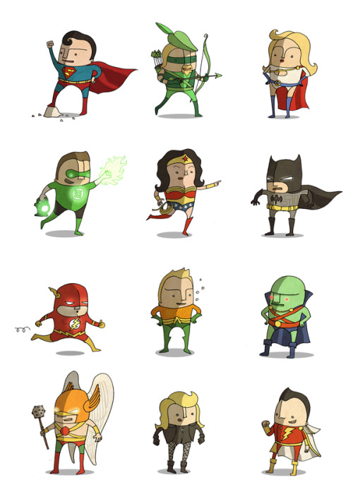 Superheroes by Ben Scruton