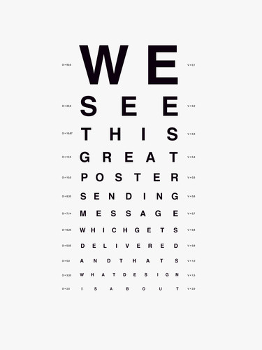 immortels:  |what we see| We see this great poster sending message which gets delivered and thats what design is about.