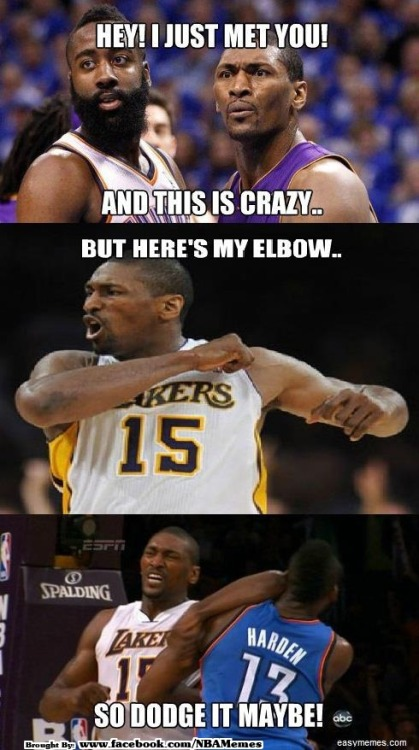 thenbamemes:  #WorldPeace