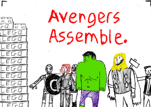 I have zero artistic talent. I apologise.  (A good rant on Avengers Assembling can be found here)