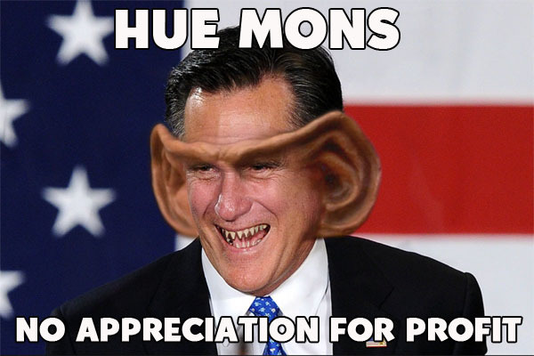 Mitt Romney the ferengi
