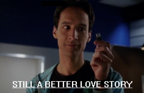 laurajane0103:  Abed and Hilda - Still a better love story than Twilight