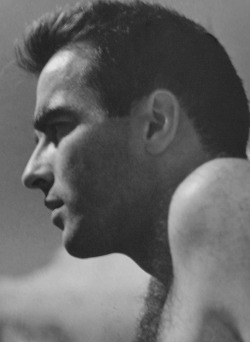 Montgomery Clift photographed by Roddy McDowall.