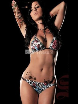 2012 Dark Printing Fashion Sexy Body With Cup Bikini Swimsuit