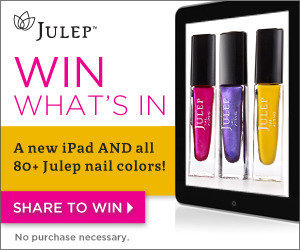 Enter to win a new iPad AND all 80 + Julep Nail Colors! on We Heart It. http://weheartit.com/entry/29133964