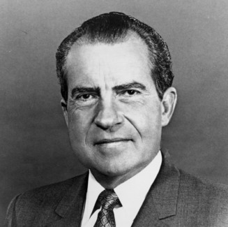 PRESIDENT RICHARD NIXON He passed laws to help save the environment, with detente he helped ease the tension of our relationship with the reds, he took the US off the gold standard, and on a personal level was a loving husband who won over his wife by driving her to and from dates with other men. Let's just forget his little mistakes concerning Watergate and the Christmas bombings during the war. I for one forgive him because those eyes pierced all women with an intensity that told us he knew how to please in the bedroom.