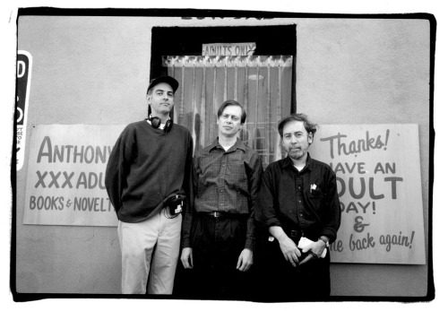 Daniel Clowes, Steve Buscemi and Terry Zwigoff