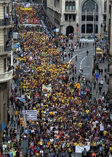 democracylookslike:  SPAIN, May, 22, 2012- MILLIONS of students and teachers protest in Spain over education austerity cuts.  source: : http://www.digitaljournal.com/article/325328#ixzz1vfi7epi8 Massive Student Protest Seville, Spain  VIDEO: http://www.youtube.com/watch?v=D2g6nc6cmoc Teachers strike across Spain, protesting cuts The central government has ordered Spain's 17 autonomous regions to cut 3 billion euros (2 billion pounds) from education spending this year as part of a tough programme to trim the public deficit to an EU-agreed level of 5.3 percent of gross domestic product. source: http://uk.reuters.com/article/2012/05/22/uk-spain-education-strike-idUKBRE84L0GA20120522 Photo Credit: http://rt.com/news/spain-protest-austerity-education-895/ Shared by Derek Soberal@OccupyCanada http://www.facebook.com/OccupyCanada