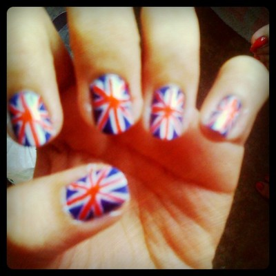 Nails for today!!# :)