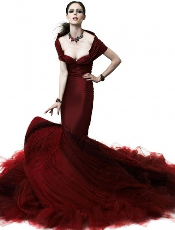 Zac Posen 2012 CollectionMore photos like this on http://iamhazelle.tumblr.com. :)