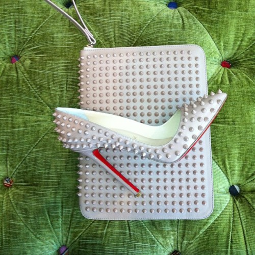 Christian Louboutin Spike Collection for Spring/Summer 2013 - iPad and Shoe