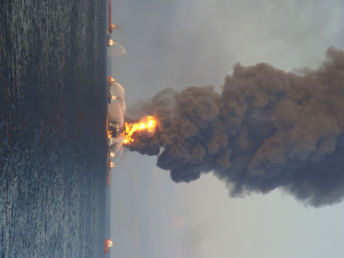 valkk:  Oil Rig blowout