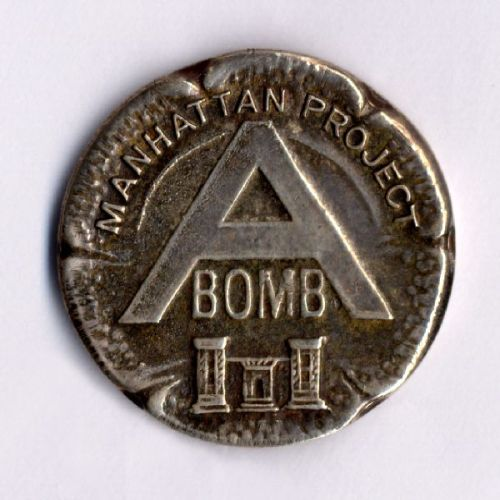 thingsmagazine:  Manhattan Project Pin, via Oregon State University Library Special Collections