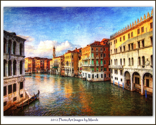 ipad4connect:  Classic Venice by Photo Art by Mandz (Travelling) http://flic.kr/p/c3Fqxy