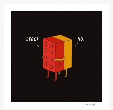 never lego of her