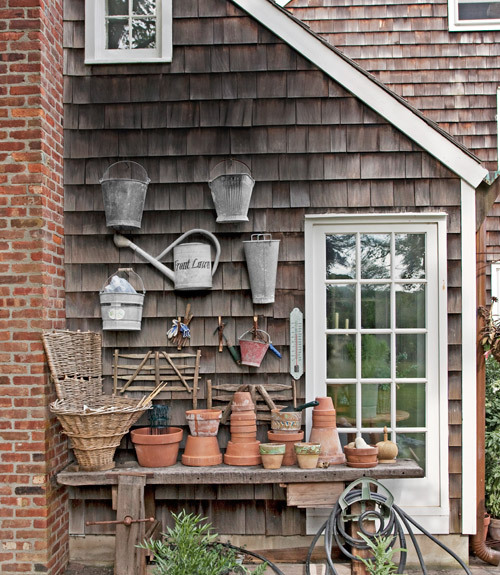 (via Home Built From a Ship - Decorating with Antiques - Country Living)