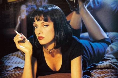 atsharpcoupe:  uma thurman pulp fiction