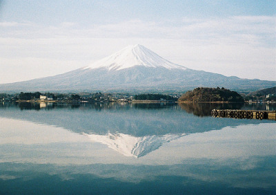 over-ture:  One view of Fuji taken with a Fuji camera (by quinolAs)
