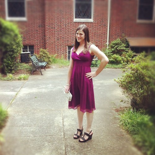 GPOYW: Going to the wedding last Sunday.