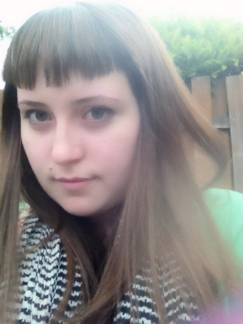 New bangs that I've had for a few days! Finally getting used to them