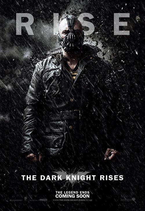 Six new character posters for The Dark Knight Rises The Dark Knight Rises has stepped its promotional push up a notch this week, following yesterday's official poster with the release of six new character-specific one-sheets.