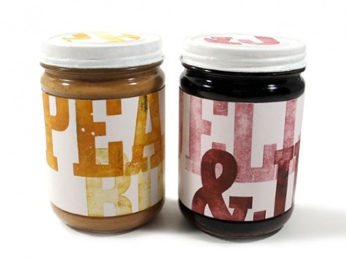 dannyskinner:  A really nice set of jars from lovelypackage.comThere's always something really intriguing about letterpress…its probably one of my most favoured printing processes.